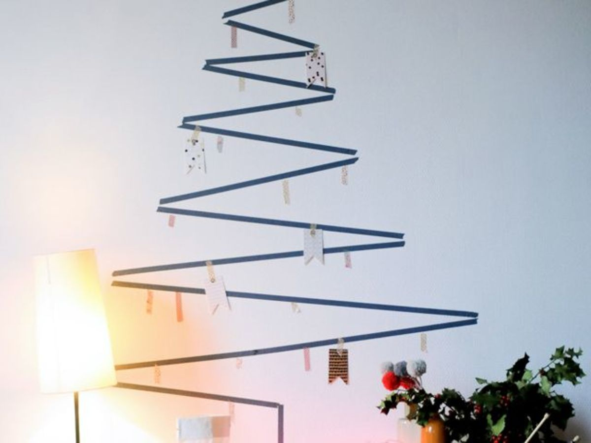 Christmas Tree Alternative.4 Festive Christmas Tree Alternatives That Will Spruce Up
