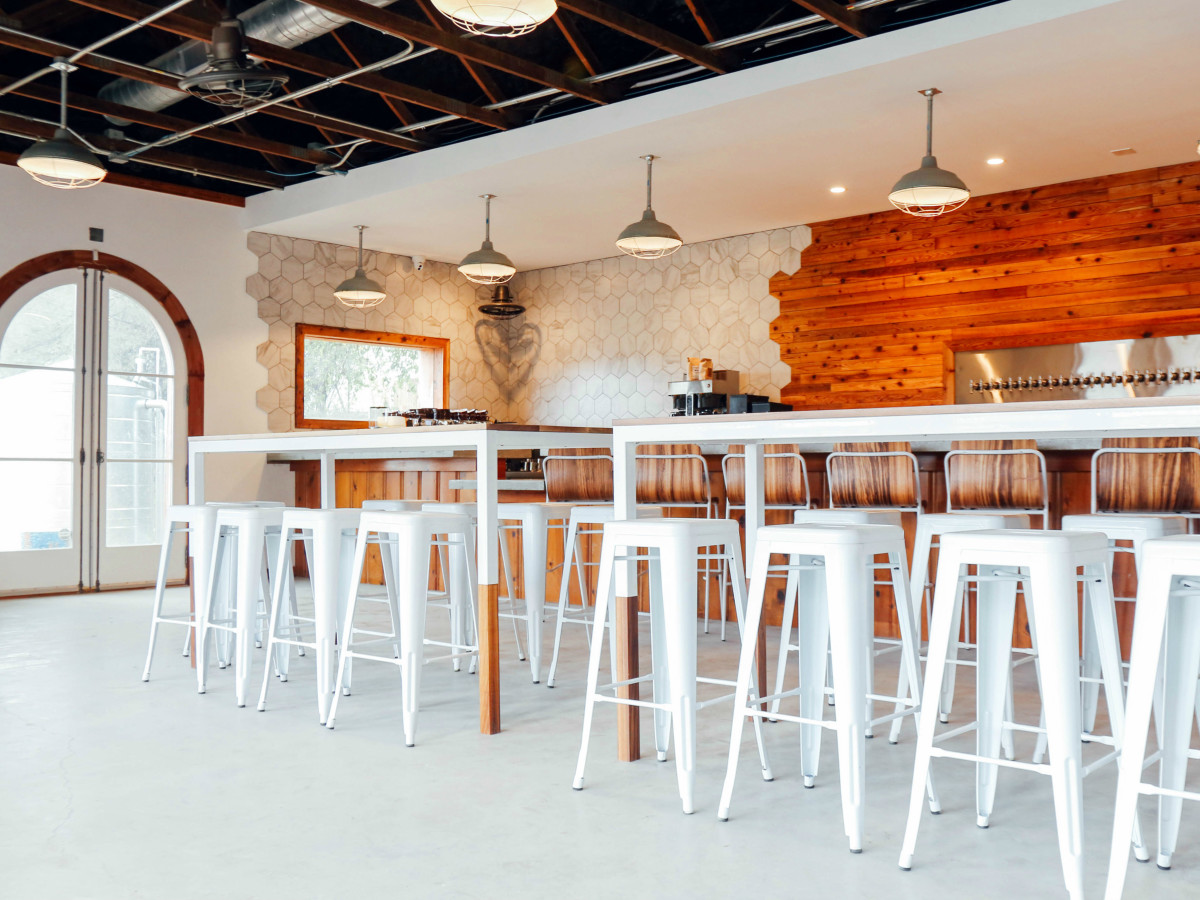 Austin's newest beer garden and coffee shop blasts off on SoCo