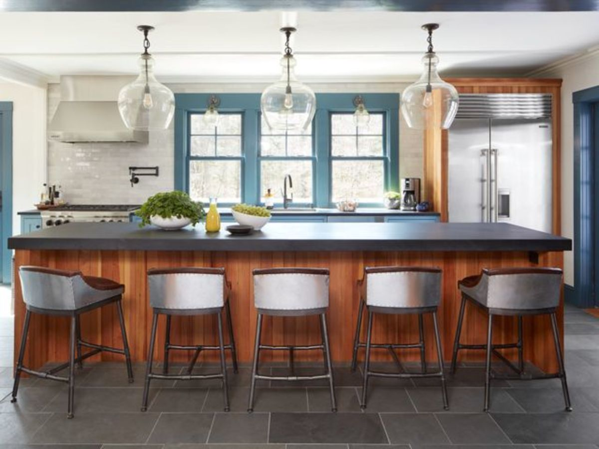 6 ways to warm up your kitchen or bath with wood accents ...