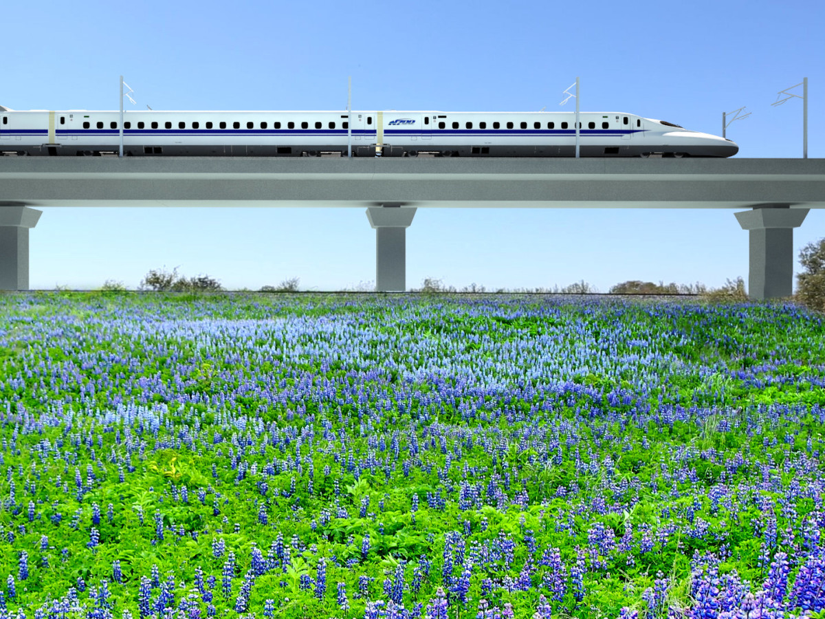 Texas high-speed train project accelerates with big