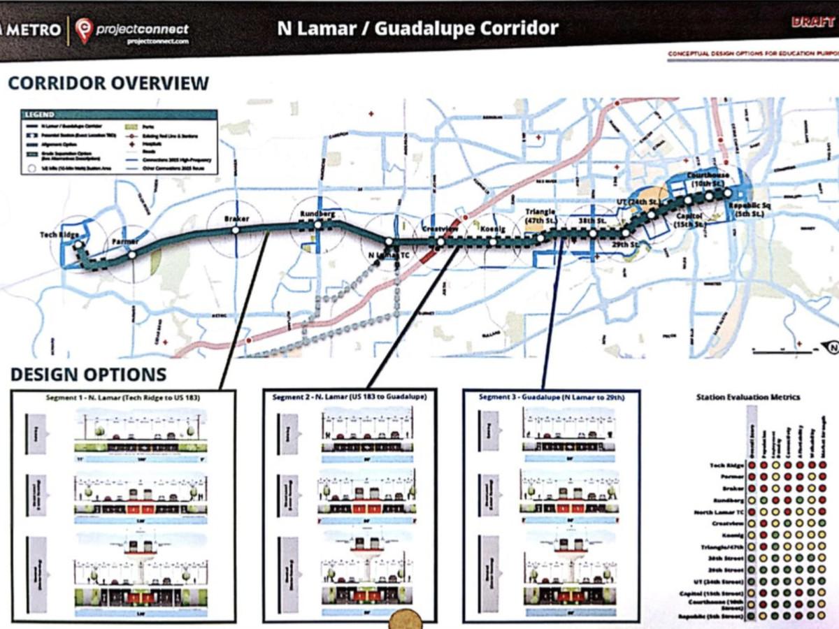 Austin Texas Subway Map.Sneak A Peek At Capmetro S Secret Plan For A New Austin Light Rail