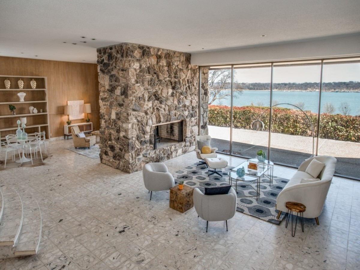 Midcentury Marvel Built By Dallas Titan Of Tile Listed For