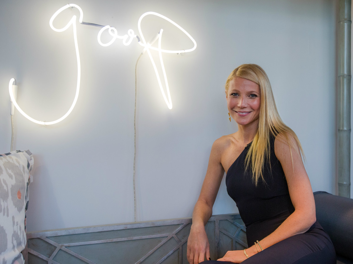4af35746dff Gwyneth Paltrow goops the halls with holiday pop-up boutique in Dallas