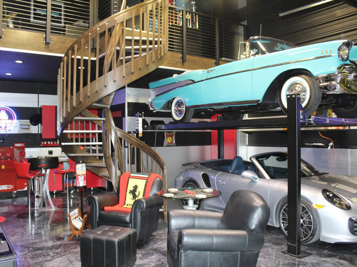 Dallas Garage Gurus Help Car Owners Build Suite Dreams For Sweet