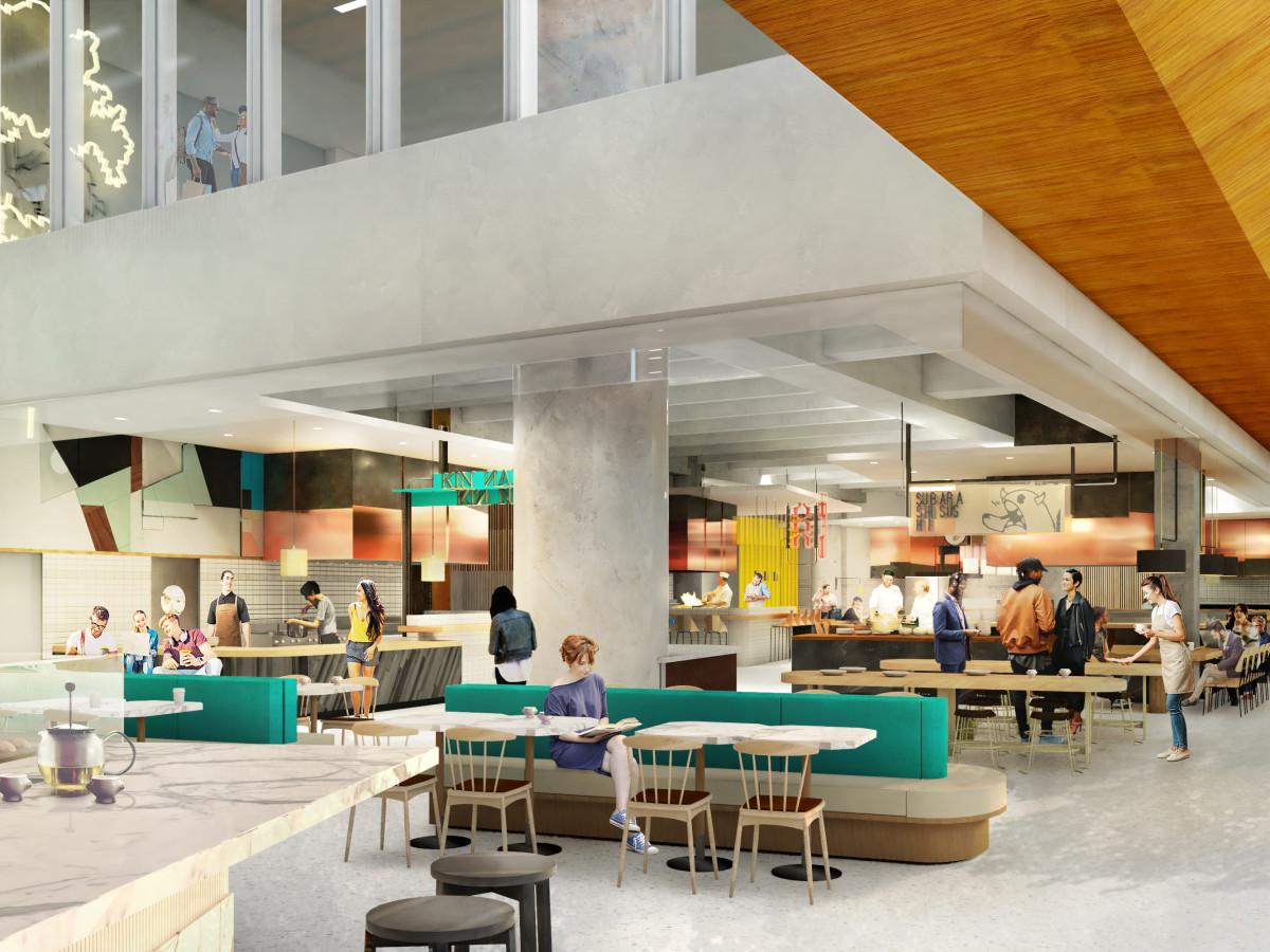 Underground Downtown Dining Palace Heats Up Houston S Food
