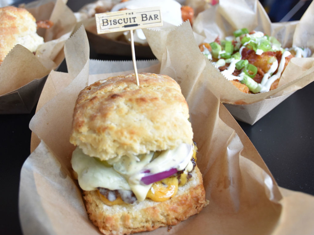 Biscuit Restaurant Bakes Biscuit Sandwiches For Fort Worth