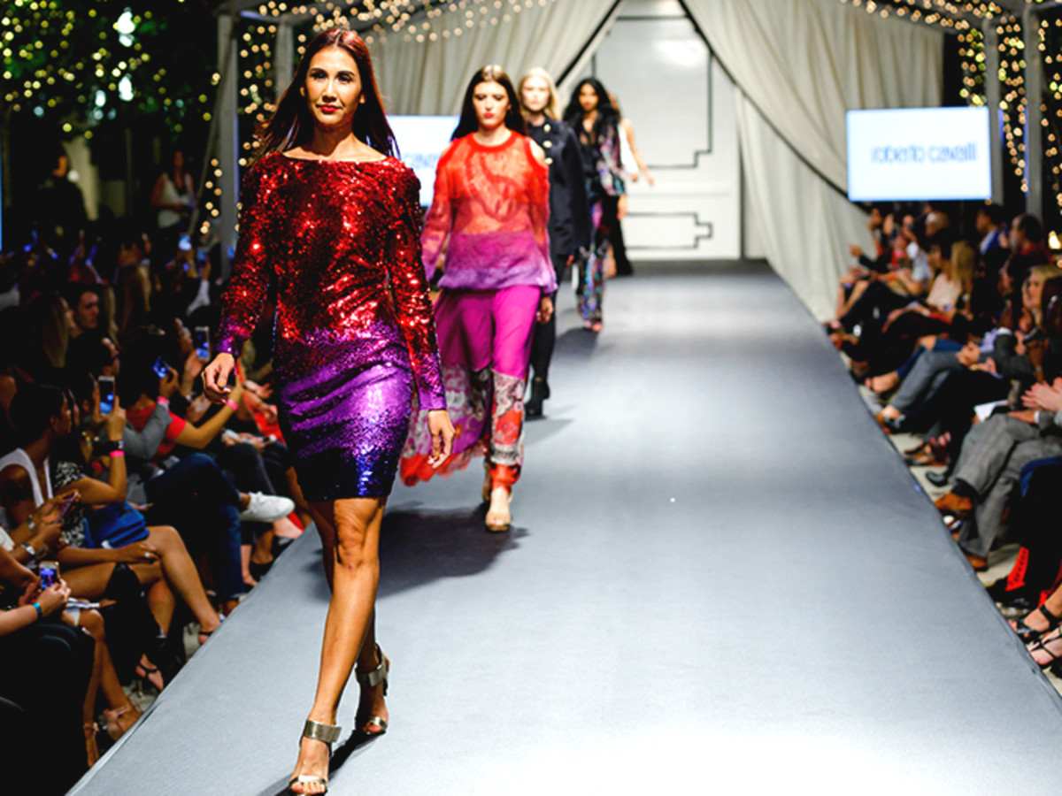102a6fd2 Fashion X Roberto Cavalli runway show. See the hottest looks from designers  ...