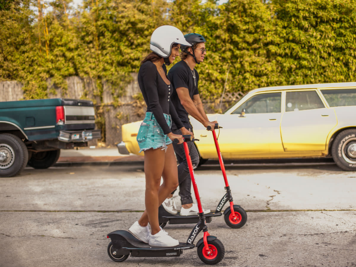 Scooters for rent ride into Dallas from iconic childhood brand