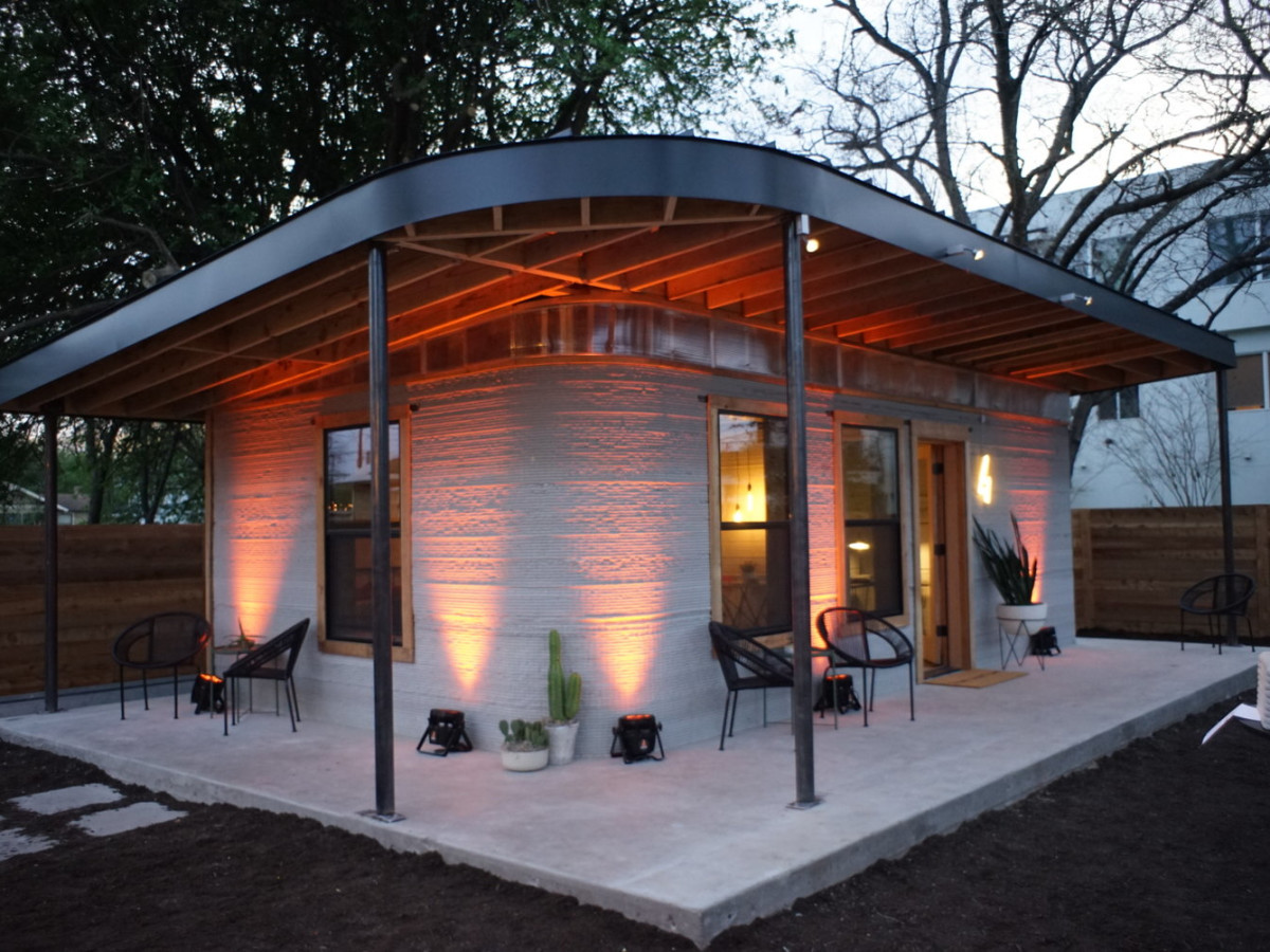 Austin Startup Is Building 3 D Homes With The Push Of A