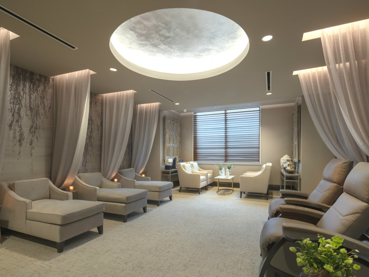 Opulent Texas spa books rare Forbes ranking as one of best