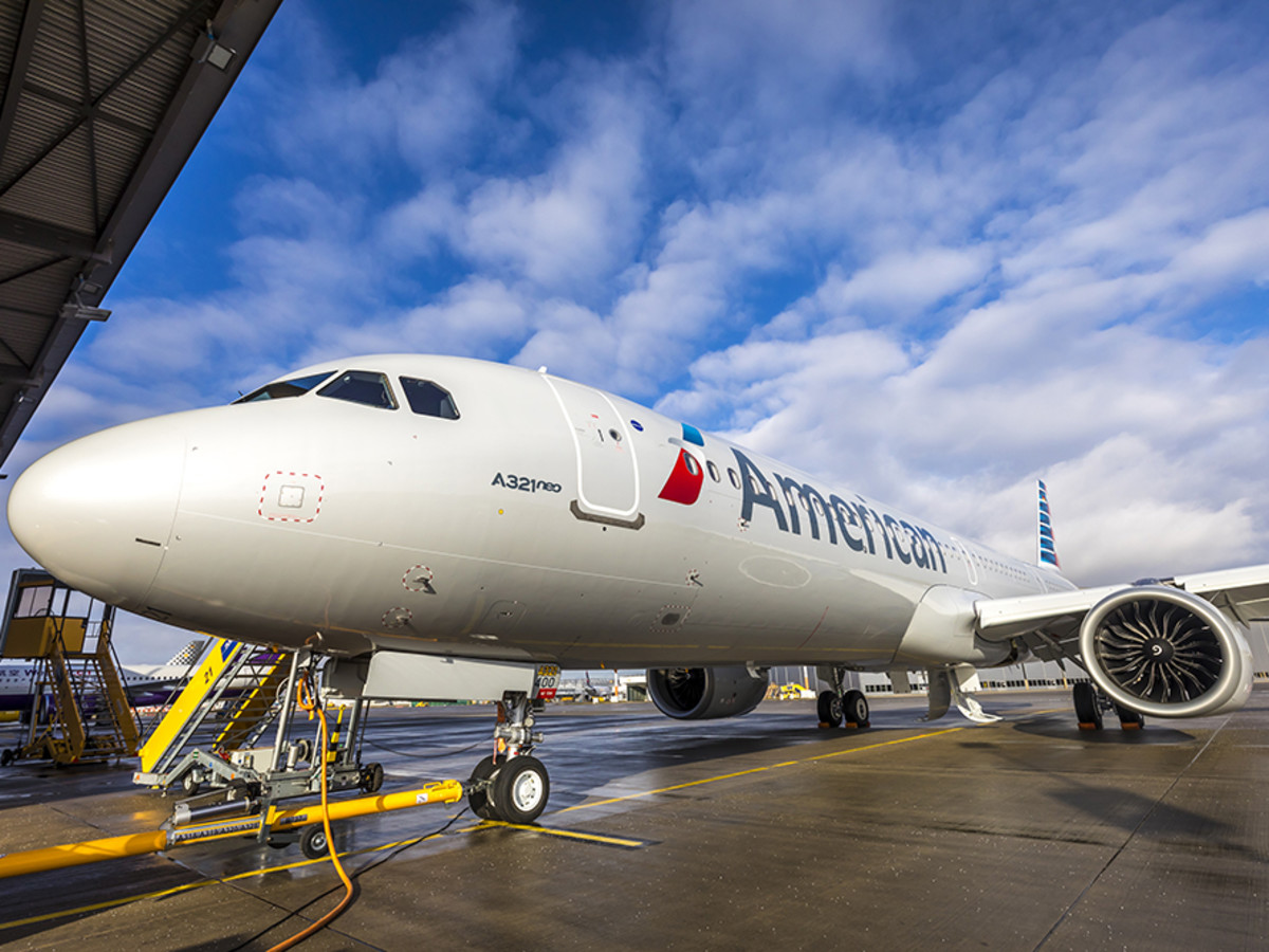 American Airlines Adds New Airplane With Wifi And Xl