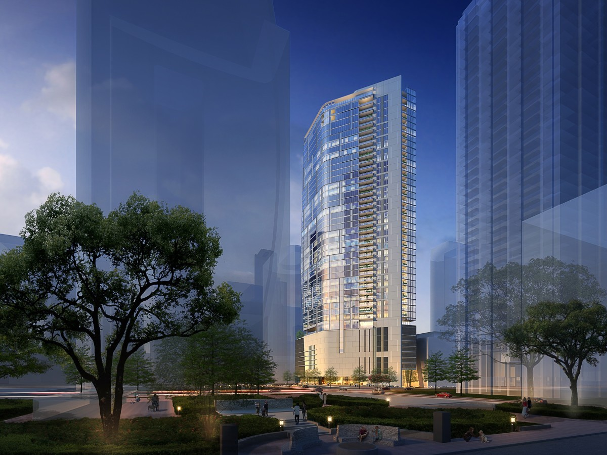 fb717bbbbc Downtown s tallest residential high-rise tower soars with luxe ...