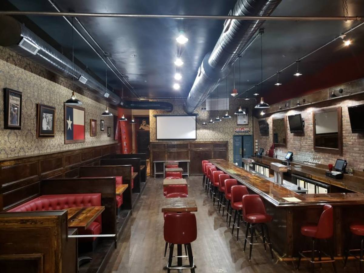 Downtown Dallas Bar Reopens In Vintage Building Cooler Than