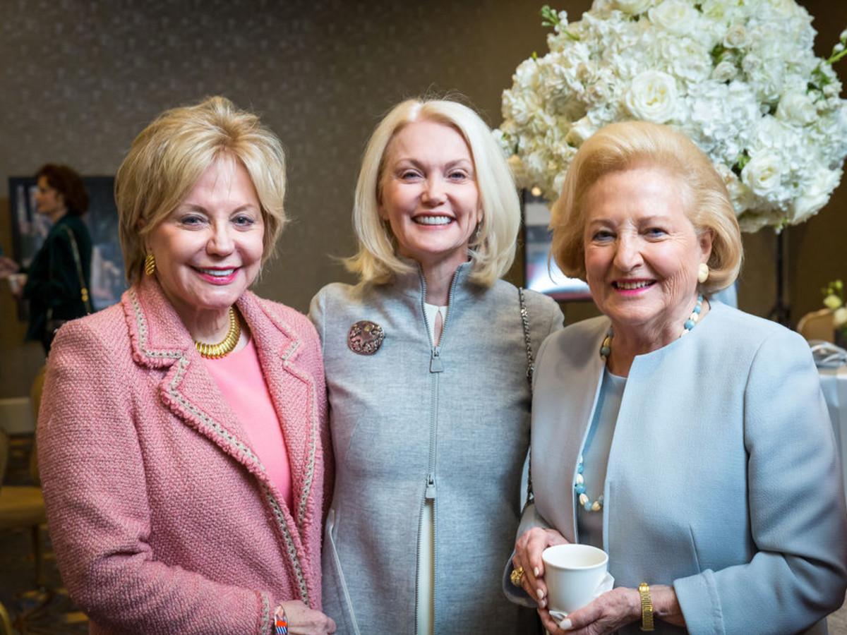 Silver Cup luncheon shines spotlight on tireless Dallas ... Nelda Cain