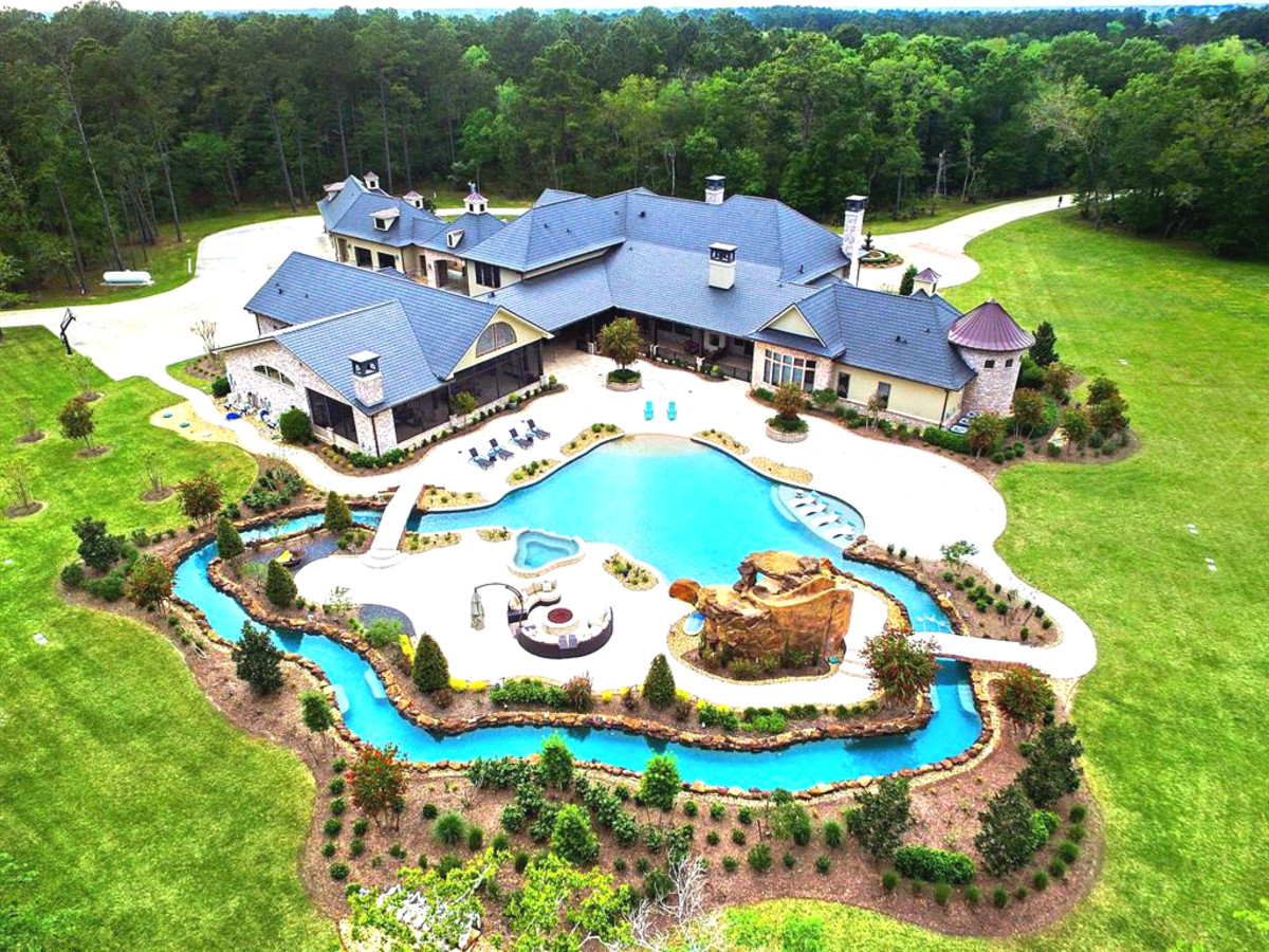 Texas mansion with personal lazy river drifts onto market