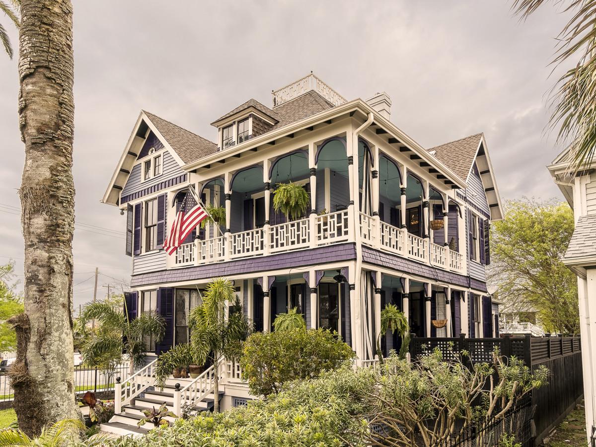 Galveston historic home tour