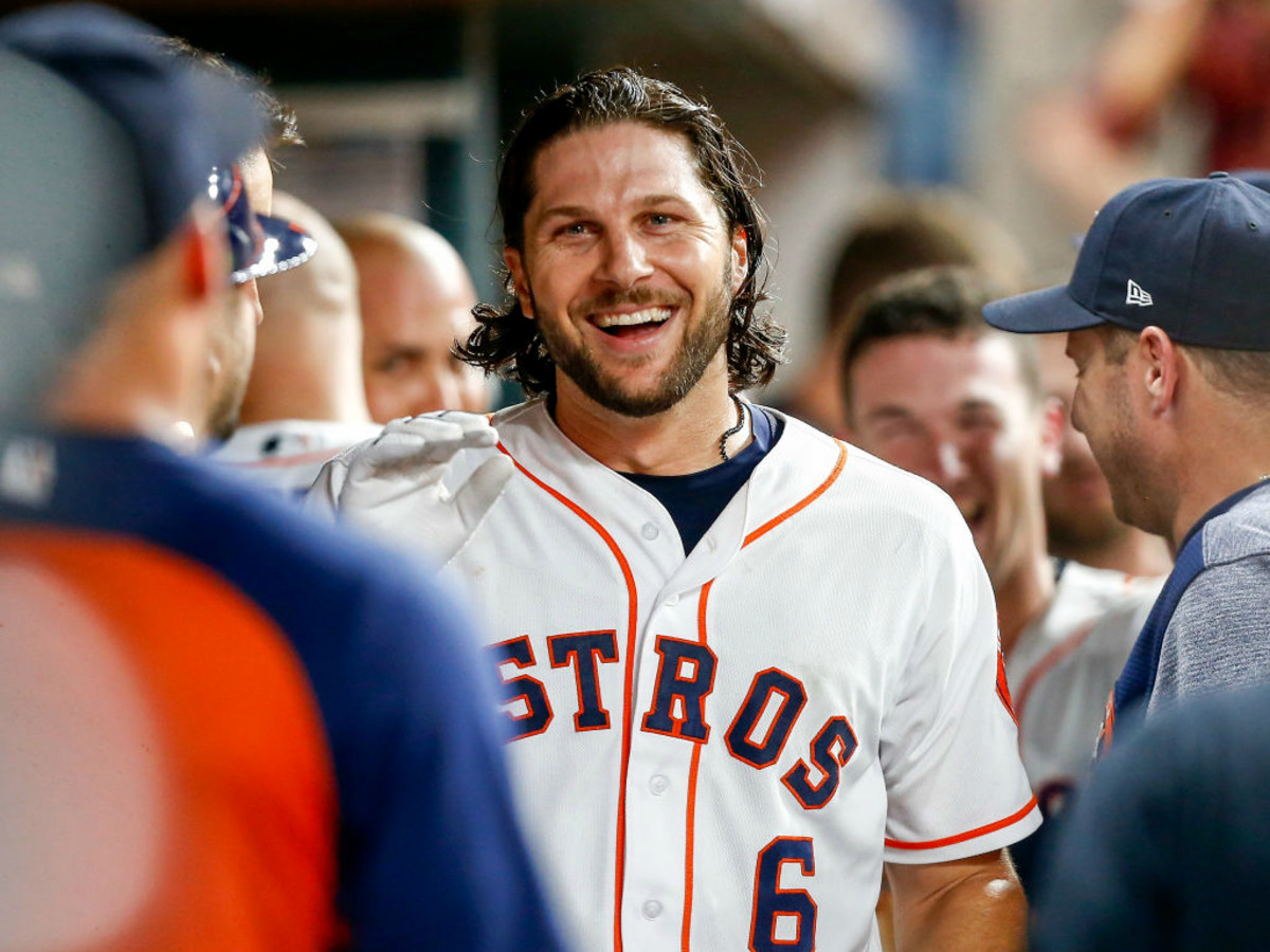 huge discount 4a5d4 828ee Ken Hoffman pitches 10 questions to Houston Astros star Jake ...