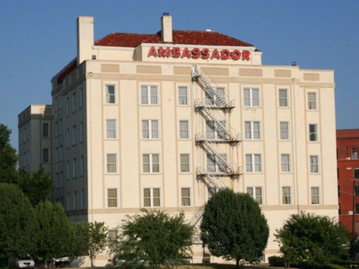 Historic Ambassador Hotel Near Downtown Dallas Is
