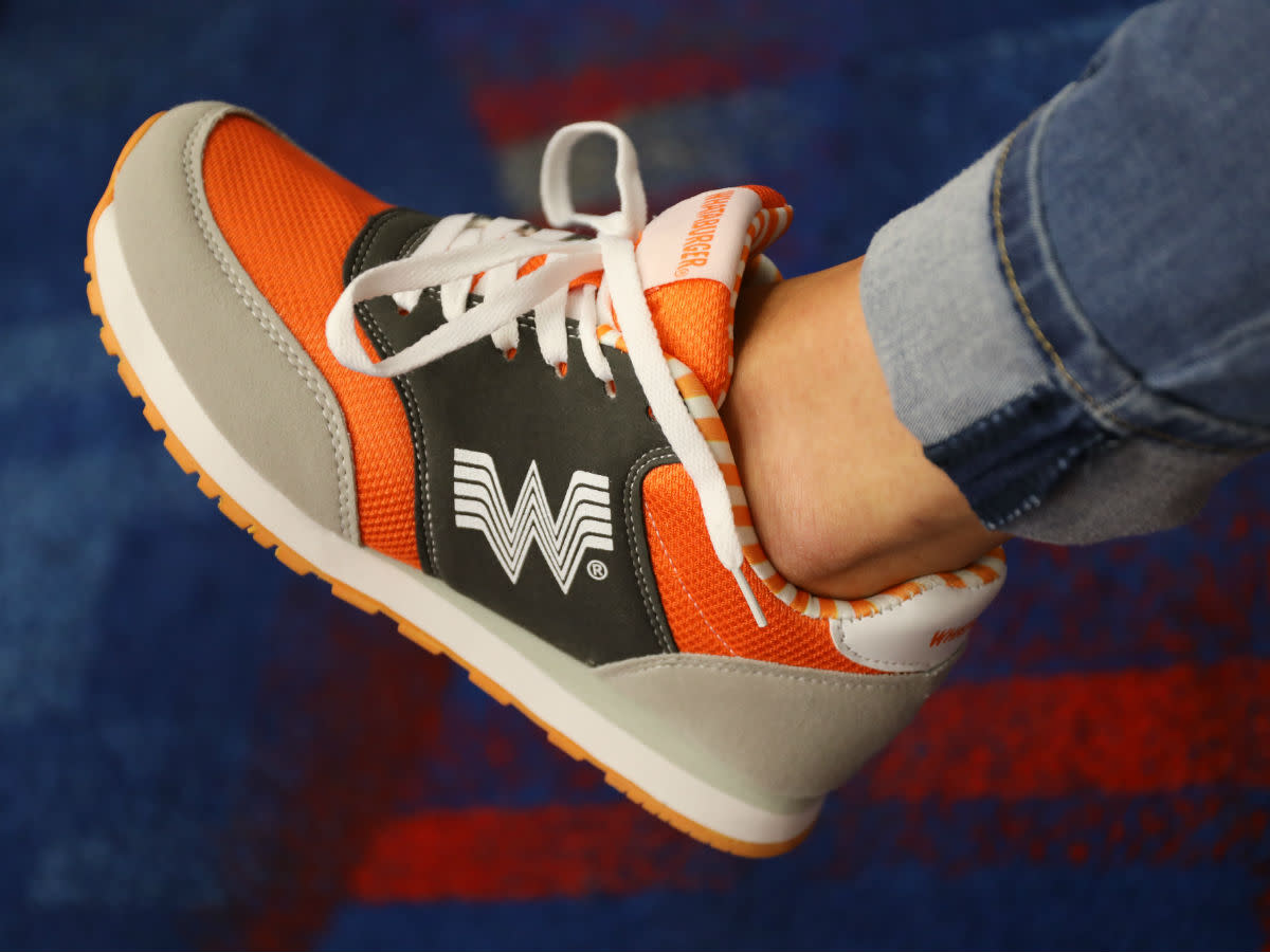 1e042a2d584 Whataburger issues new merch including running shoes and pillows ...