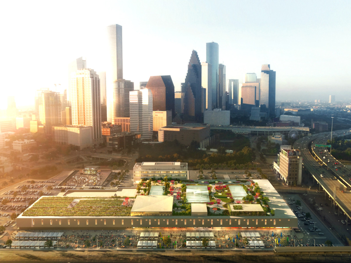One Of The World S Largest Rooftop Gardens Will Bloom In Houston