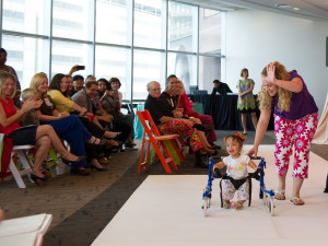 Bad Pants Fashion Show, Nalah Best, Jill Bendixen, Texas Children's Hospital, 2012