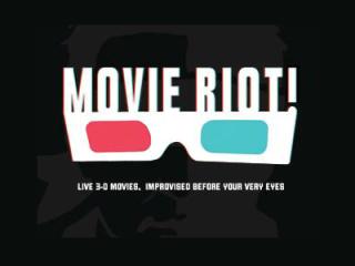 Movie Riot_improv show_ColdTowne Theater_I Luv Video_logo
