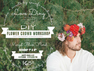 Love Ding presents a DIY Flower Crown Workshop