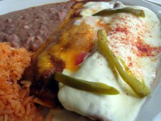 Manny's Uptown, enchilada dinner