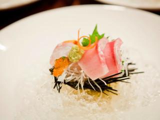 Sashimi at Yutaka Sushi Bistro in Dallas