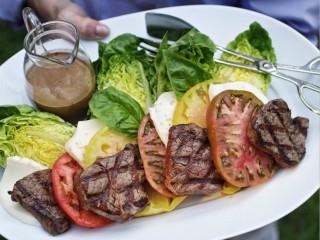 Salad at Zodiac restaurant at Neiman Marcus