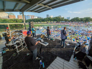 Panther Island Pavilion in Fort Worth live music
