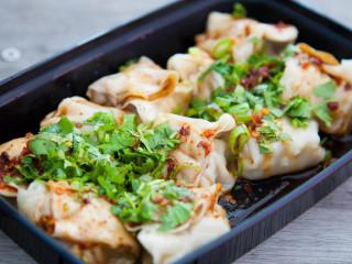 Dumplings at Monkey King Noodle Company