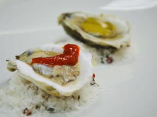 Oysters at Dallas Fish Market restaurant in Dallas