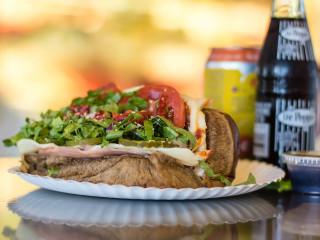 Italian Stallion sub sandwich at jimmy's Food Store in Dallas