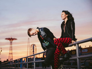 Matt and Kim band
