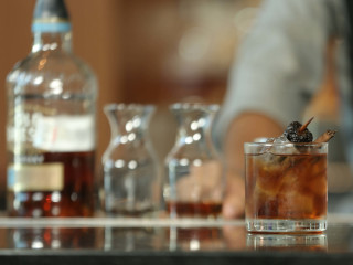 Spiced chocolate old fashioned made with Old Forester Kentucky Straight Bourbon Whisky