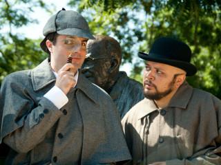 Austin Playhouse presents Baskerville: A Sherlock Holmes Mystery