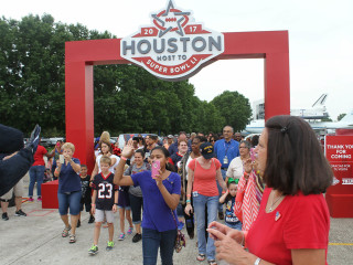 Houston Super Bowl Host Committee presents Touchdown Tour