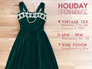 Vintage Tex presents Holiday Open House