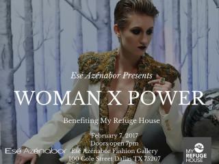 Esé Azénabor presents Woman X Power Fashion Show
