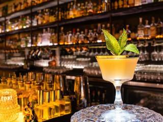 The Roosevelt Room Austin bar Old Cuban cocktail drink