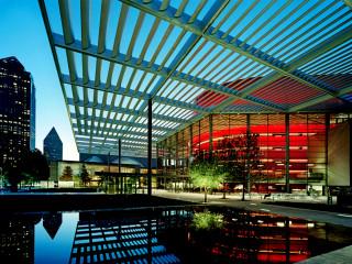 Winspear Opera House in Dallas Arts District