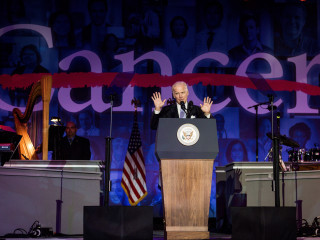 Joe Biden at MD Anderson Gala