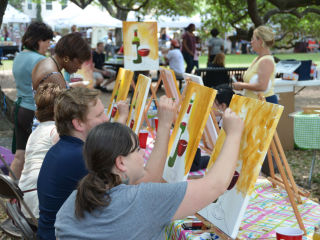 Midtown Houston presents Art in the Park