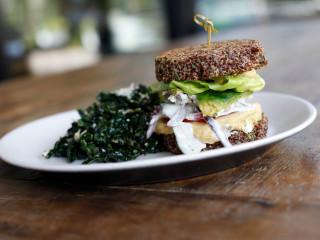 True Food Kitchen quinoa burger veggie burger