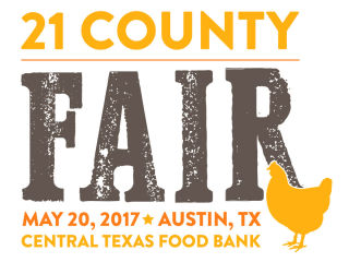 Central Texas Food Bank presents 21 County Fair