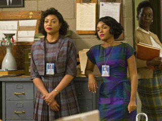 Taraji P. Henson and Janelle Monae in Hidden Figures