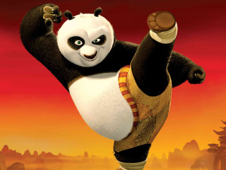 Po the panda from Kung Fu Panda