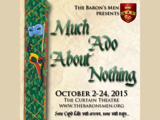 The Baron's Men presents Much Ado About Nothing