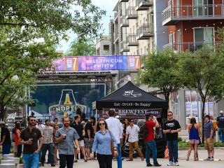 West 7th Fort Worth presents Brewfest on Crockett
